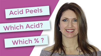 Acid Peels | Which acid should you choose?  | Which Percentage is best?