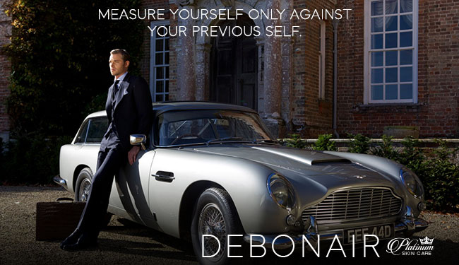 Debonair Man | Measure yourself ONLY against your previous self