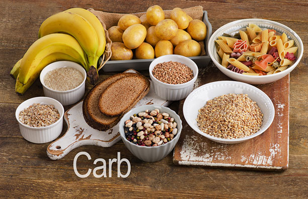 Avoid carbohydrates and grains to avoid inflammation