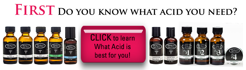 Do you know which acid peel you need?