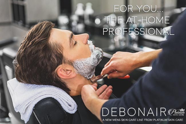 Debonair for Men | For you ... the at-home professional. Fresh Shave Lather