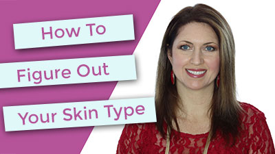 Quick trick to figure out your skin type NOW.