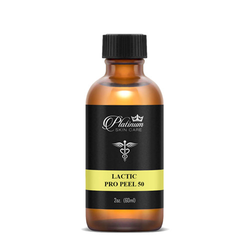 """Alpha hydroxy lactic, is a milder irritation acid that will give subtle to no visible peeling, therefore it is excellent for those looking for a """"light"""" peel.  Lactic is shown to inhibit tyrosinase enzyme activity directly, so it is a key peel to use when dealing with pigmentation issues. It will also help to improve chronically dry skin due to its hygroscopic property.  6-8 treatments will be administered in weekly or bi-weekly increments."""