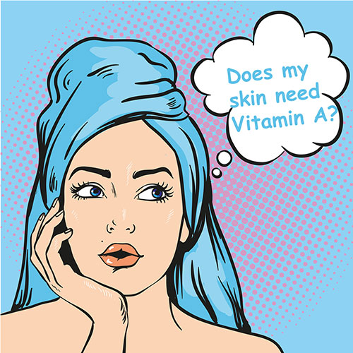 Vitamin A for Awesome Skin