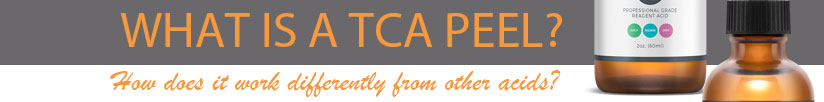 what is a TCA peel |  How does it work differently from other acids