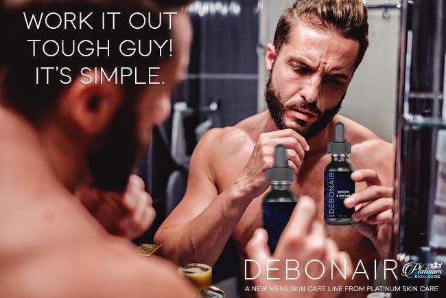 Debonair for Men | Smooth & Groom deluxe beard oil