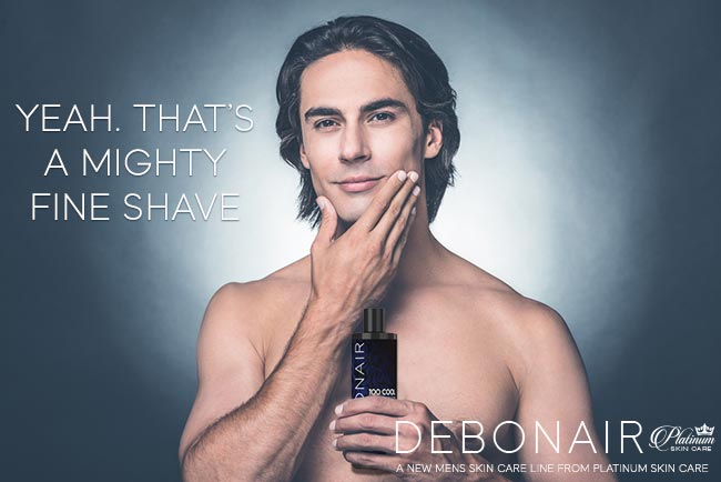 Debonair for Men | Too Cool after shave cooling tonic. Yeah, that's a mighty fine shave you got there.