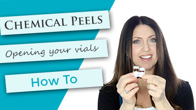 How to open the different peel vial safety seals