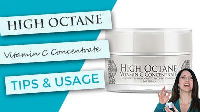 High Octane Vitamin C Serum | Usage and Tips