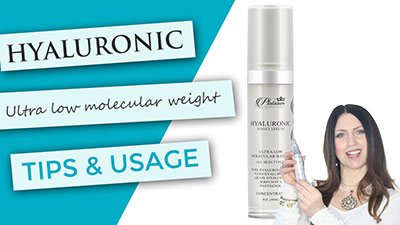 Nano Hyaluronic for all skin types | Tips and Usage