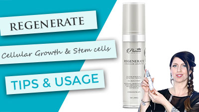 Regenerate EGF Stem Cell Serum | Tips and Usage