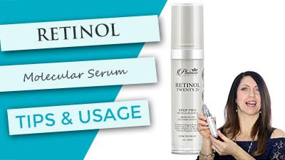 Retinol Molecular Serum | Tips and Usage